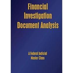 Financial Investigation - Document Analysis
