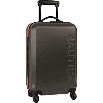 Nautica Luggage Ahoy 21 Inch Hardside Spinner,
