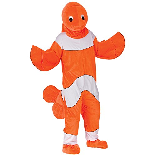 Mascot - Clown Fish Costume Adult Animal Fancy Dress