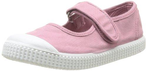 Victoria  Mercedes Velcro Lona Tinta,  Sneaker bambina, Rosa (Rosa), 30