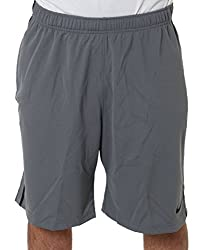 Nike Men's Polyester Shorts (888407880100_646152-064_Medium_Grey)