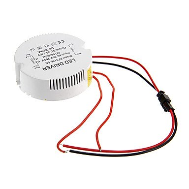 Rayshop - 0.3A 31-36W Dc 90-140V To Ac 85-265V Circular External Constant Current Power Supply Driver For Led Ceiling Lamp