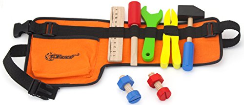 Top-Race-10-Piece-Tool-Belt-Thick-Fabric-Tool-Belt-with-Solid-Wooden-Tools-Construction-Role-Play-Set