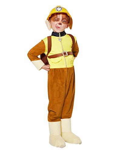 [Spirit Halloween Toddler Rubble Costume Deluxe - Paw Patrol] (The Spirit Of Halloween Costumes)