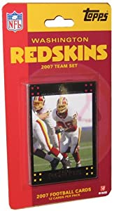 Topps NFL Football Cards 2007 Washington Redskins Team Set by Topps