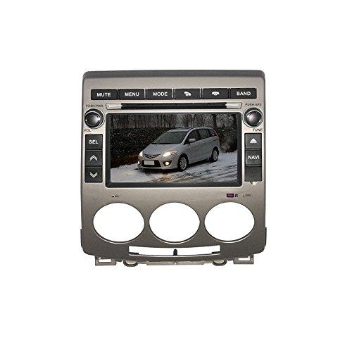 REALMEDIA Mazda 5 OEM Einbau Touchscreen Navigation GPS Autoradio DVD Player MP3 MPE4 USB SD 3D TV iPod USB MPEG2 Bluetooth Freisprecheinrichtung +++mit REALMEDIASHOP Garantie+++