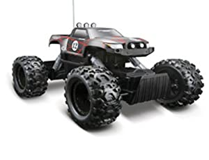 Remote Control 4WD Tri-Band Off-Road Rock Crawler RTR Monster Truck-Black