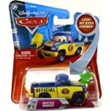 Disney Pixar Cars - Lenticular Series 2 - Dexter Hoover with Green Flag - No.71