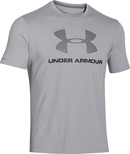 Under Armour CC Sportstyle Logo Maglia a Maniche Corte Uomo - Grigio (Grigio (True Gray Heather)) - M