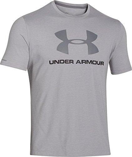 Under Armour CC Sportstyle Logo Maglia a Maniche Corte Uomo - Grigio (Grigio (True Gray Heather)) - M