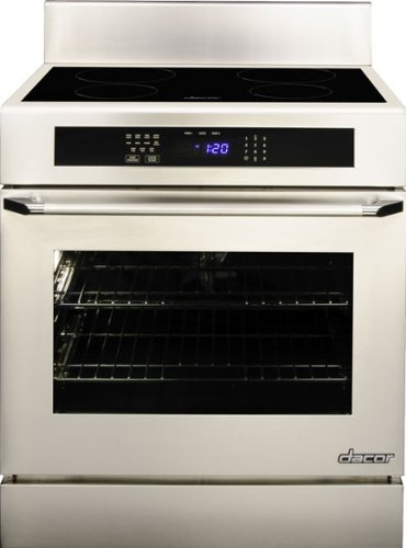 """Dacor Rr30Ns 4.8 Cu. Ft. Capacity 30"""" Induction Freestanding Range With Four Induction Simmersear Zones, 6"""" Backguard, Full-Depth Side Panels & In front-529938"""