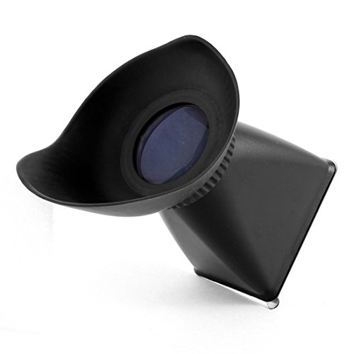 """2.8X Magnifier 3"""" V2 Lcd Viewfinder Extender Magnetic Hood For Canon 550D 5Diii"""