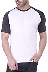 Upbeat Men's Cotton T-Shirt (CU_02_0004_L_White)