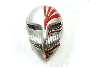 [Hollowification mask] Bleach BLEACH hollowfication cosplay costume tool Kurosaki Ichigo silver red (japan import)