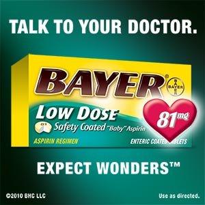 Bayer Low Dose Aspirin Regimen - 400 Tablets