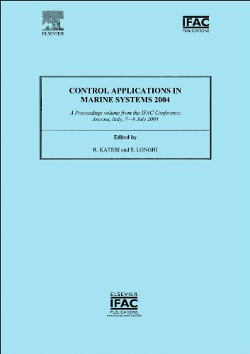 Control Applications In Marine Systems 2004 (Ipv - Ifac Proceedings Volume)