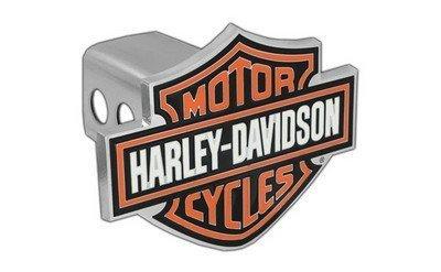 Harley davidson bar shield remorque orange housse de for Housse moto harley davidson