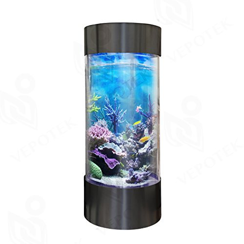 Aquarium tank size 58 h x 20 w x 20 d animals pet for 20 gallon fish tank size