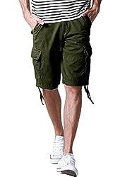 Match Men's Cotton Cargo Shorts #S3596
