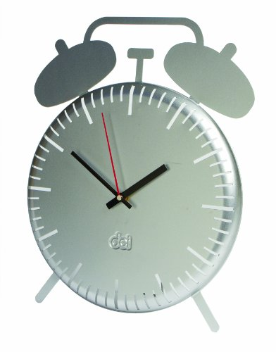 DCI Retro Alarm Wall Clock and Table-Top Clock