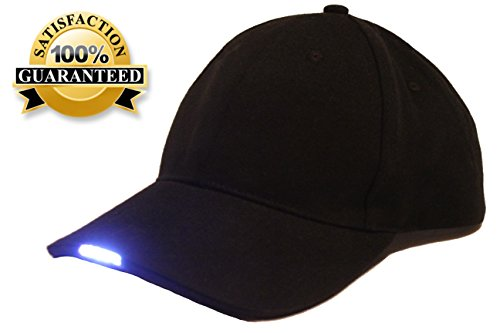northern outback 5 led light baseball cap hat best hands. Black Bedroom Furniture Sets. Home Design Ideas