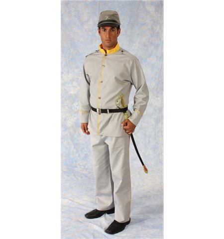 Civil War - Confederate Soldier Costume