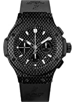 Hublot Big Bang Black Carbon Fiber Dial Automatic Chronograph Mens Watch 301QX1724RX by Hublot