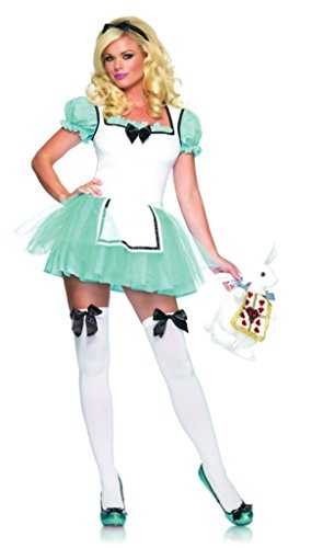 Leg Avenue Womens Alice Enchanted Wonderland Storybook Fancy Dress Sexy Costume