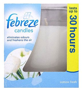 Febreze Cotton Fresh Air Freshener Candle (Pack of 3)