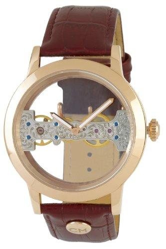 Carlo Monti CM109-385 - Reloj de caballero automático, correa de piel color marrón