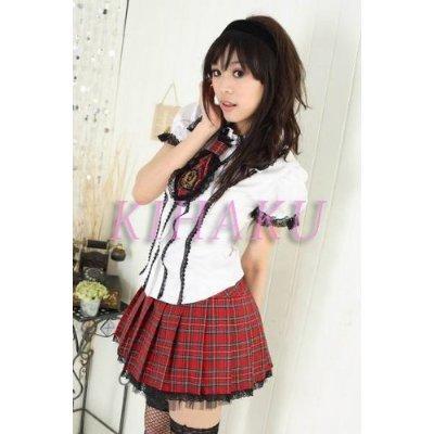 【学生服】3点セット制服☆コスプレ☆コスチューム c056