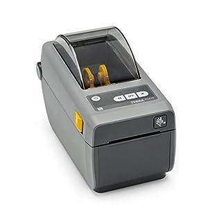 Zebra Technologies ZD41022-D01M00EZ Series ZD410 Direct Thermal Compact Desktop Printer, 203 DPI, 2