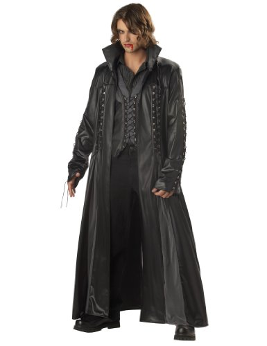 California Costumes Men's Baron Von Bloodshed Costume, Black/Grey,X-Large