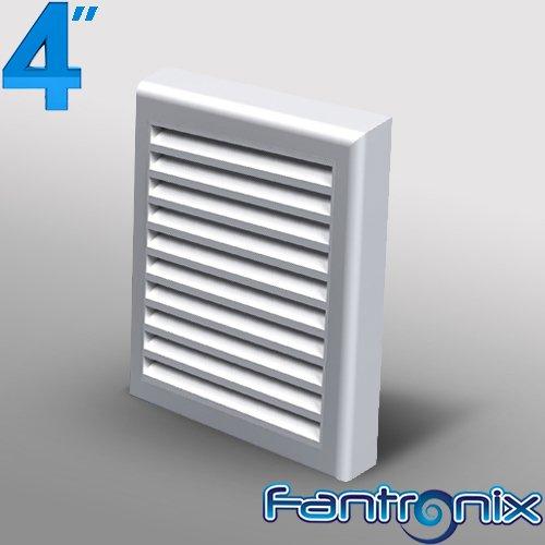 Bathroom wall vent