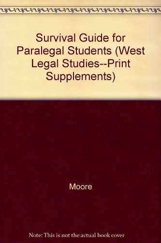 Survival Guide for Paralegal Students