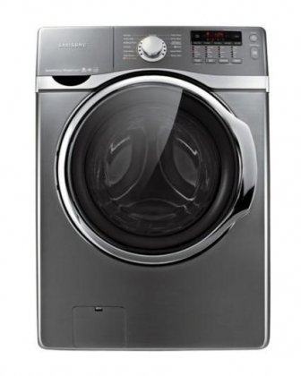 Samsung WF405ATPASU 4.0 Cu. Ft. Platinum Stackable With Steam Cycle Front Load Washer - Energy Star