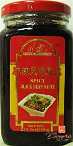 Hot & Spicy Black Bean Sauce 12.3oz by D&J Asian Market