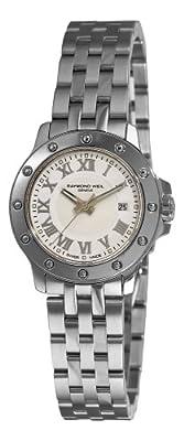 Raymond Weil Women's 5399-ST-00308 Tango White Roman Numerals Dial Watch