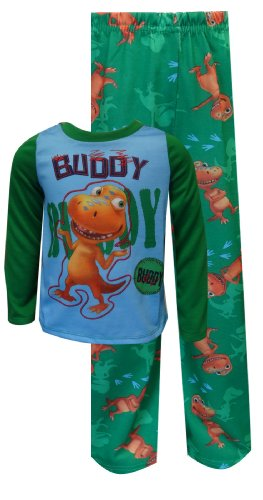 Dinosaur Train Posing Buddy The T-Rex Toddler Pajamas For Boys (2T) back-502547