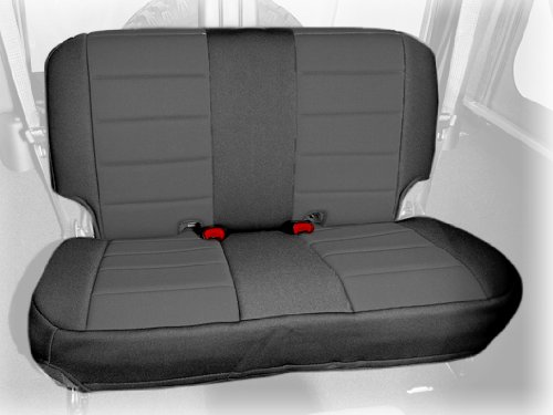 Rugged Ridge 13265.01 Black Custom Neoprene Rear Seat Cover