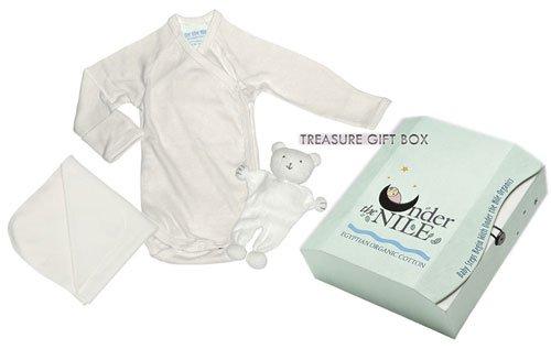 Organic Egyptian Cotton Newborn Baby Gift in Treasure Box