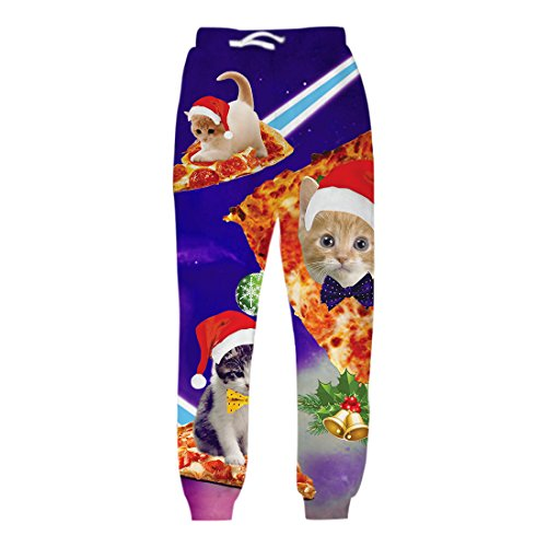 uideazone-boys-printed-christmas-pizza-cats-pants-cool-sweatpants-with-pockets