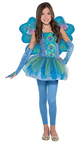 Children's Peacock Princess Costume Size Medium (8-10)
