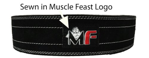 10mm Quick Release Weight Lifting Belt (Large (35-40.5 inches when Fully tightened))