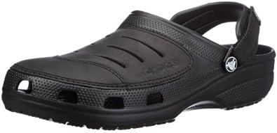 Crocs Men's Yukon Clogs Black 7 UK