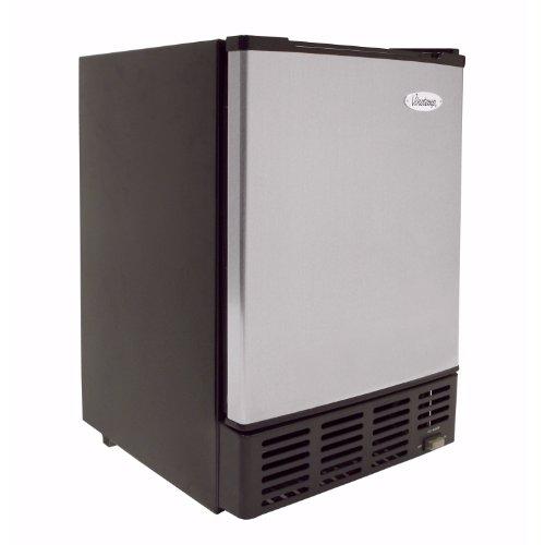 Vinotemp VT-IMSW Under-Counter Ice Maker, Stainless/Black
