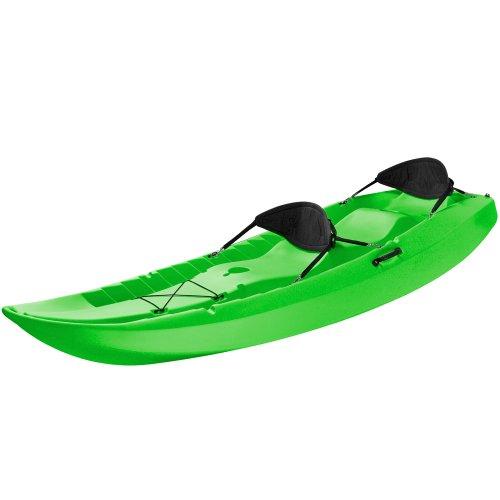 Lifetime tandem sit on top kayak with back rests 10 feet for Lifetime fishing kayak