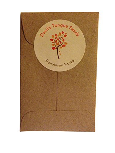 10 Devil's Tongue Seeds By Donaldson Farms - Hot Pepper Seeds! (Devils Tongue compare prices)