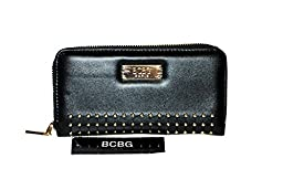 BCBG Small Wallet with Stars B-051 Black