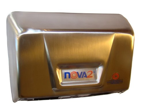 093079 Nova 2 Hand Dryer- Stainless Steel - Automatic - Surface Ada - Mulit-Voltage, 110-240 Volt